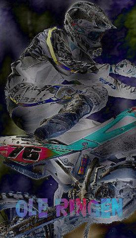 første motorcross sykklen i verden